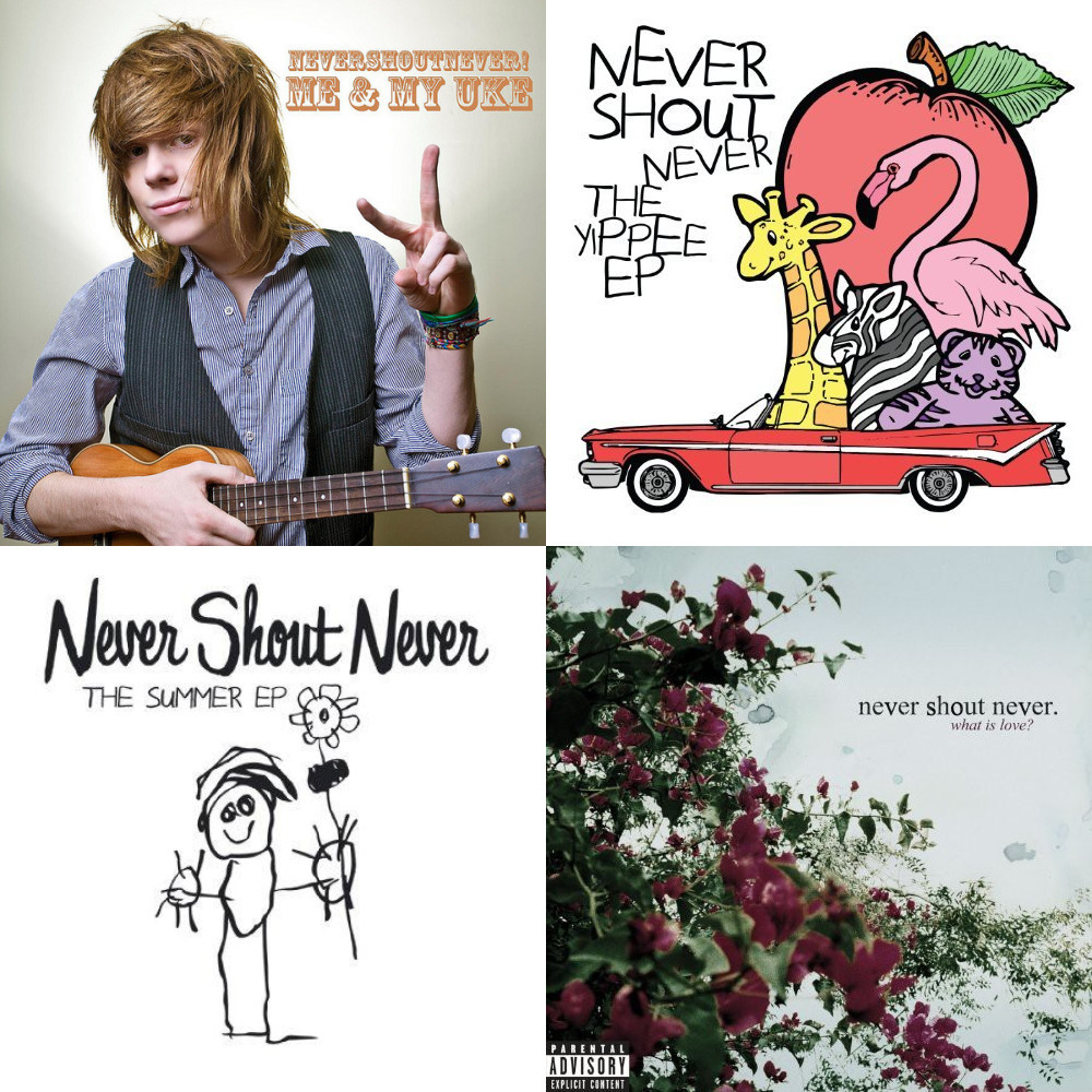never shout never lyrics trouble