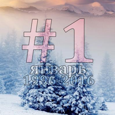 Хиты #1: Январь